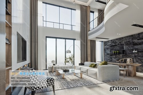 Modern Style Livingroom 364 (2019)