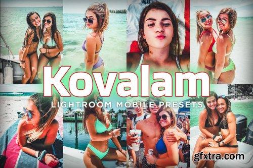 CreativeMarket - 7 Mobile Lightroom Presets - Kovalam 4034436