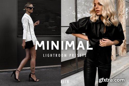 CreativeMarket - 7 MINIMAL BLOGGER LIGHTROOM PRESETS 4288109