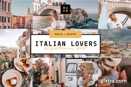 CreativeMarket - 8 Italian Lightroom Preset Bundle 4285919
