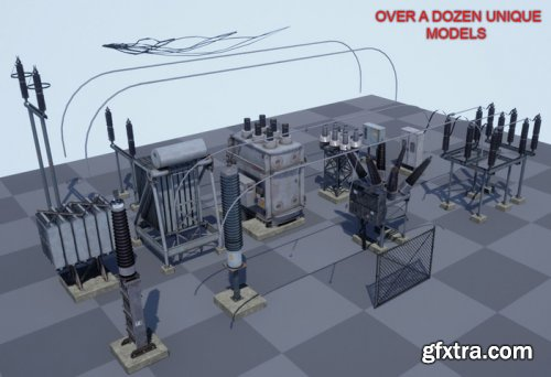 Electric Substation ( Power Grid ) v1.0