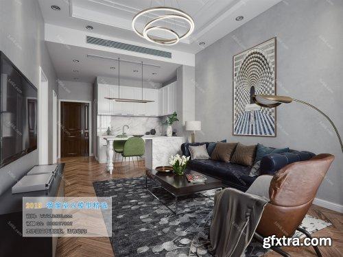 Modern Style Livingroom 370 (2019)