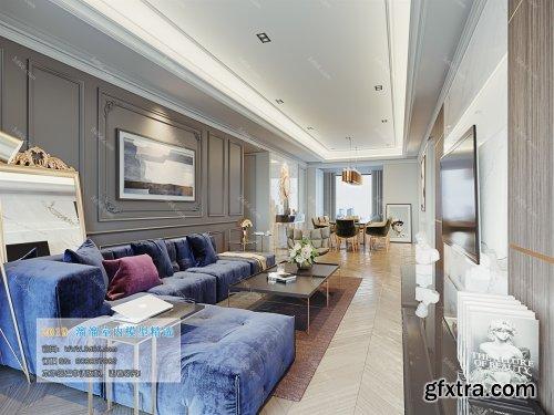 Modern Style Livingroom 372 (2019)
