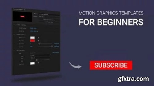 How to Create Motion Graphic Template (.mogrt) for Beginners