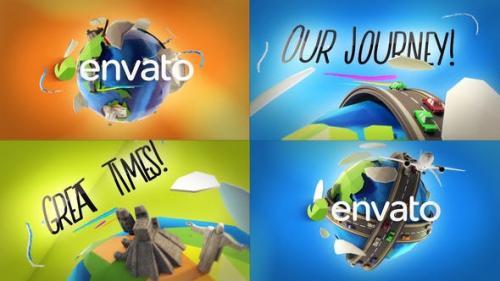 Videohive - Travel Logo Reveals