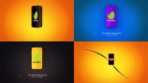 Videohive - Phone Logo Reveal
