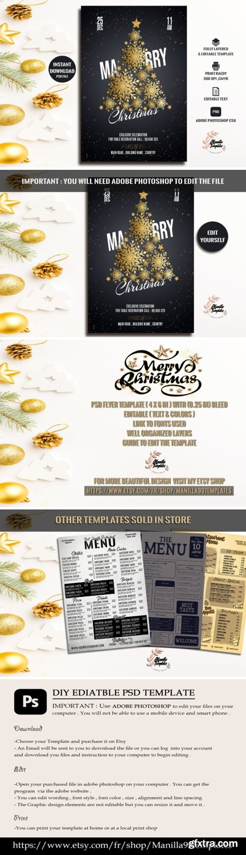 Marry Christmas Invitation 2178890