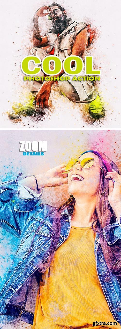 GraphicRiver - COOL GMaster Photoshop Action 25110700