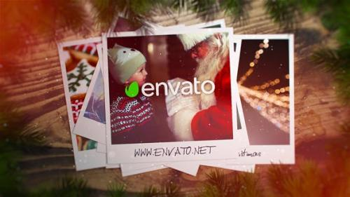 Videohive - Christmas Photo Opener