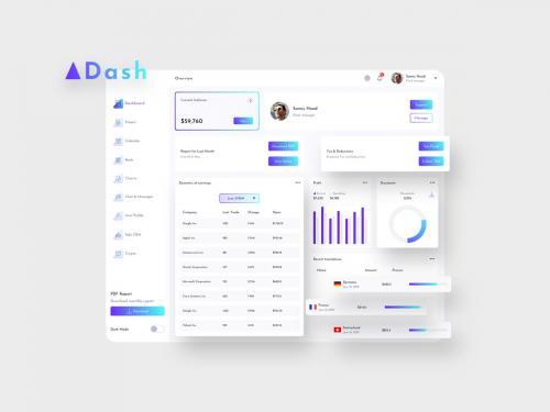ADash Finance Dashboard Ui Light - FP - adash-finance-dashboard-ui-light-p
