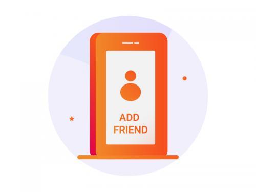 Add New Friend Icon - add-new-friend-icon