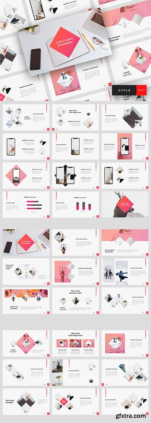 Cycle - Creative PowerPoint, Keynote and Google Slides Templates