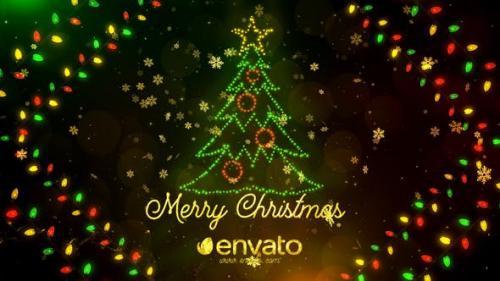 Videohive - Colorful Lights Christmas