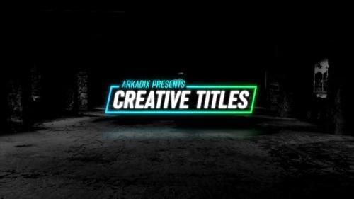 Videohive - Creative Titles 4k