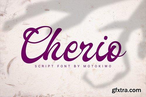 Cherio - Handmade Font