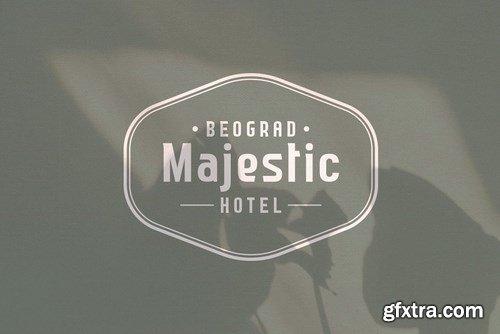 CM - Nailhead Modern Wedding Typeface 4358423