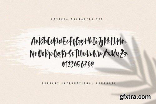 Cassela - The Beauty Script Font