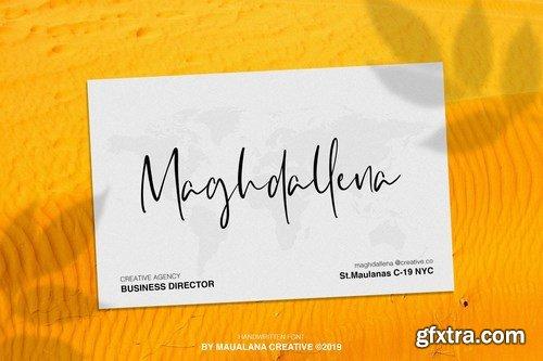 Tangerines Handwritten Font
