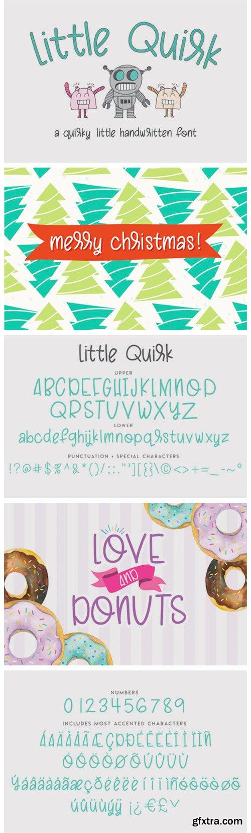 Little Quirk Font