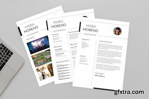 Event Moreno Resume Designer