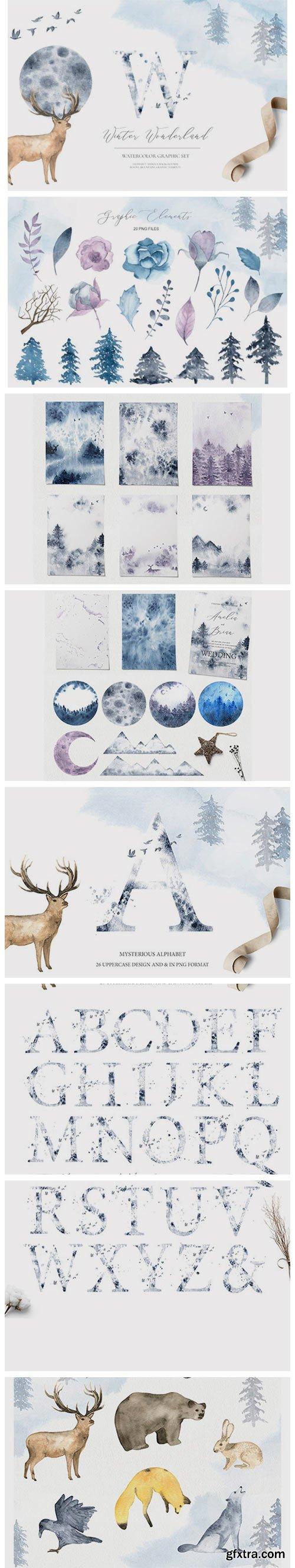 Winter Wonderland - Watercolor Set 2194146