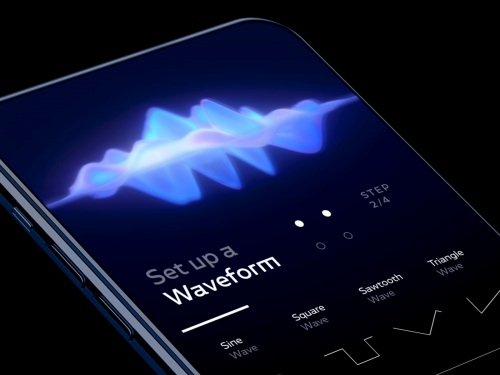 AI Music App Wave Animation - ai-music-app-wave-animation