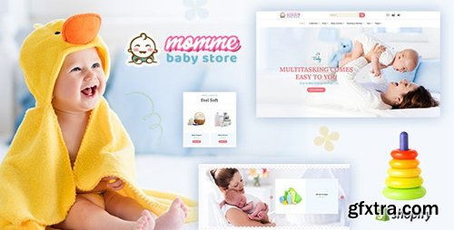 ThemeForest - Momme v1.0 - Shopify Kids Store, Baby Shop - 23859379