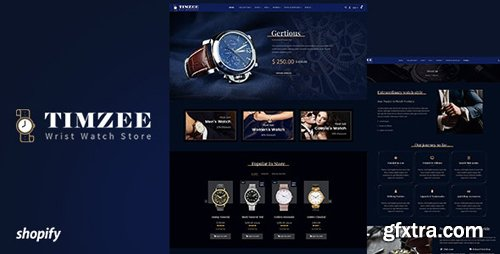 ThemeForest - Time zee v1.0 - Shopify Watch Store & Digital Clock Theme - 24140753