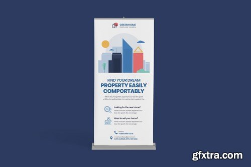 Real Estate Rollup PSD Template