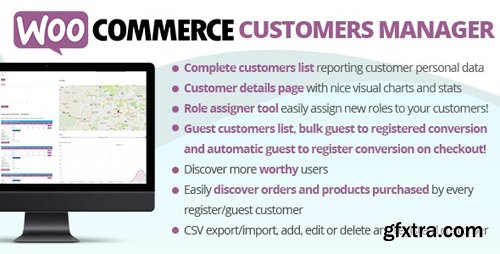 CodeCanyon - WooCommerce Customers Manager v24.6 - 10965432
