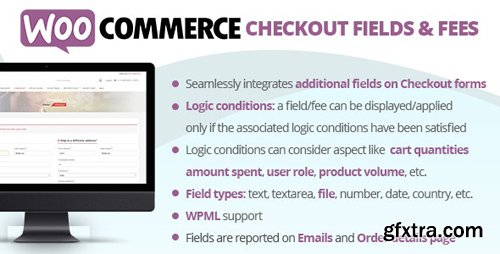 CodeCanyon - WooCommerce Checkout Fields & Fees v6.9 - 20668577