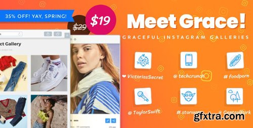 CodeCanyon - Instagram Feed Gallery v1.1.13 - Grace for WordPress - 20429911