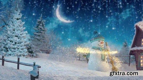 MotionArray Christmas Greetings Opener 19398