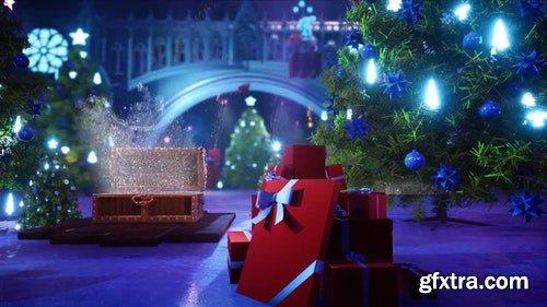 MotionArray Christmas On The Gates 296884