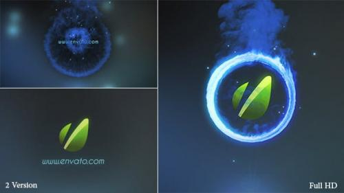 Videohive - Fire Ring Logo Reveal
