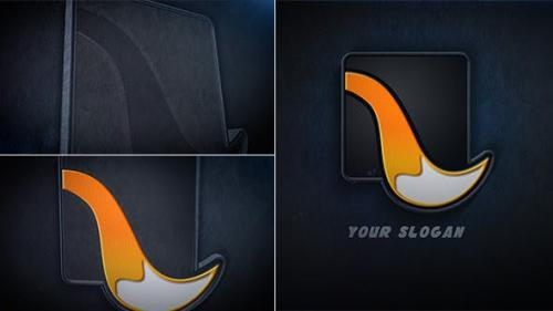 Videohive - Leather Logo Reveal