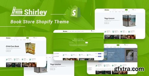 ThemeForest - Shirley v1.0 - Book Store Shopify Theme - 25203312