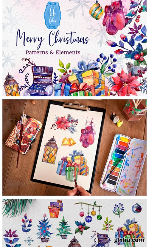 Set of Illustrations Christmas Miracle 2126505