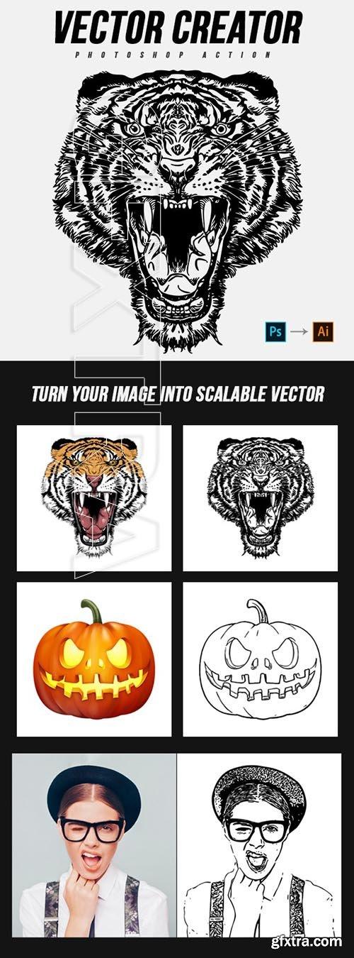GraphicRiver - Vector Creator Photoshop Action 25072574