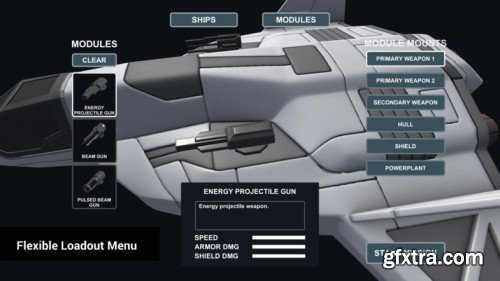 Unity Asset Store - Space Combat Kit