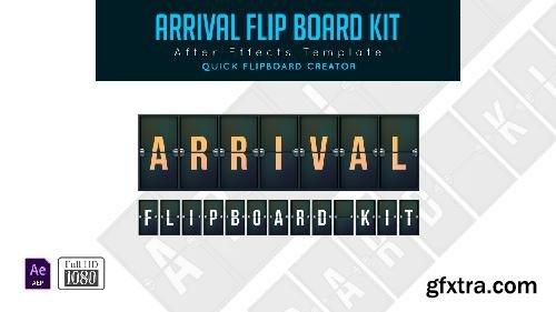 MotionArray Arrival Flip Board Kit 335093