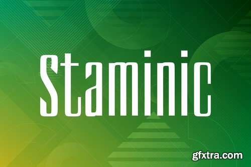Staminic Font