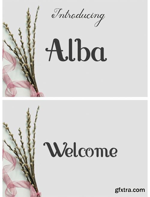Alba Font