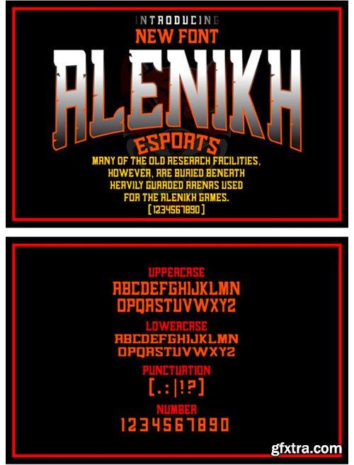 Alenikh Sports Font