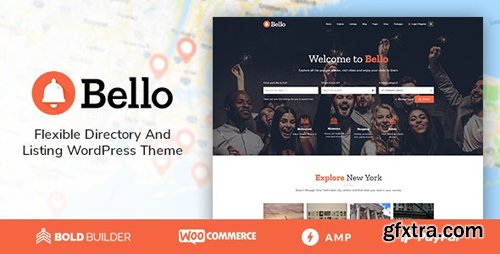 ThemeForest - Bello v1.4.4 - Directory & Listing - 21815903