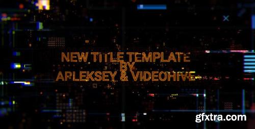 VideoHive Digital Glitch Titles 20612702