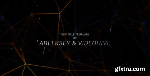 VideoHive Plexus Titles 20474573