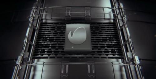 Videohive - Metal Logo Ident