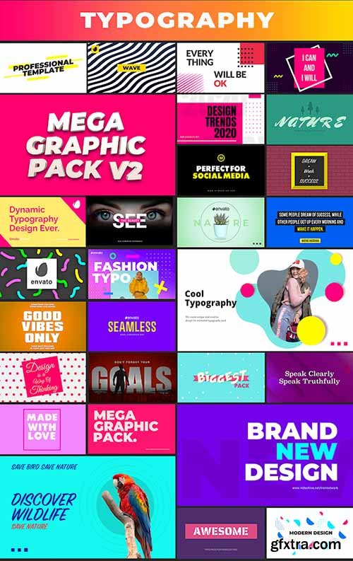 Videohive Mega Graphics Pack 25185878