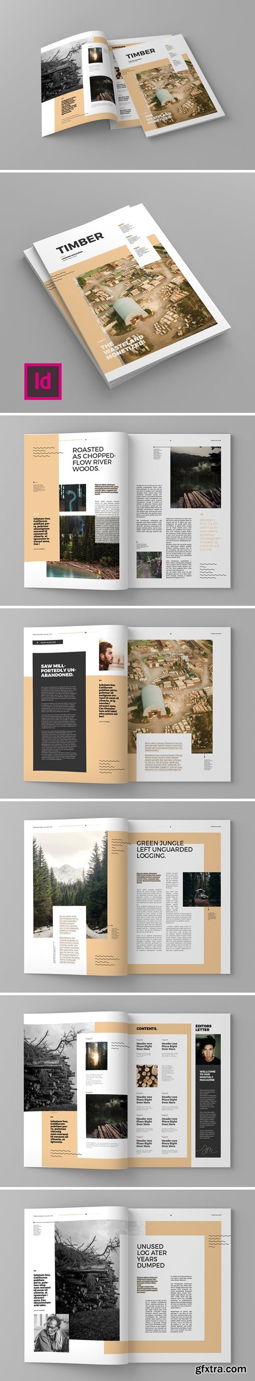 CM - Timber - Magazine Template 4365959